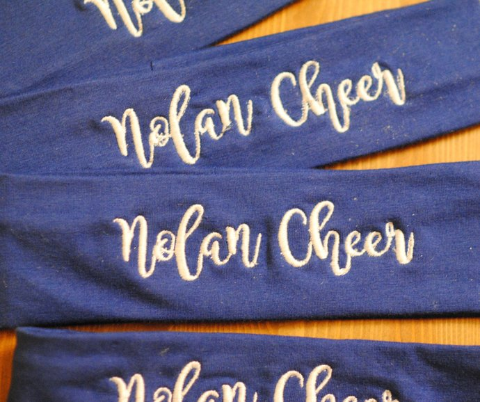 Cheerleading, Dance Team, Drill Team, Synchro Team headbands
