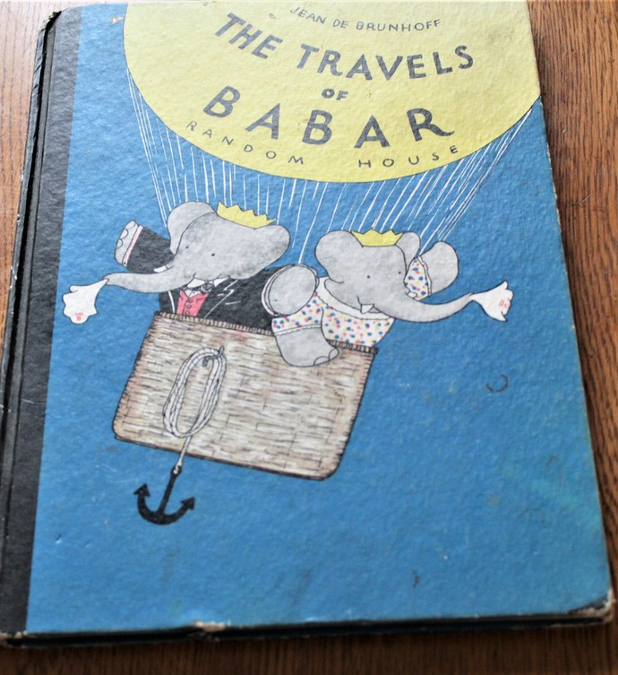 THE TRAVELS OF BABAR, by Jean De Brunhoff; Translated by Merle Haas