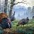 Early Mist Turkeys Cross Stitch Pattern***LOOK***X***INSTANT DOWNLOAD***