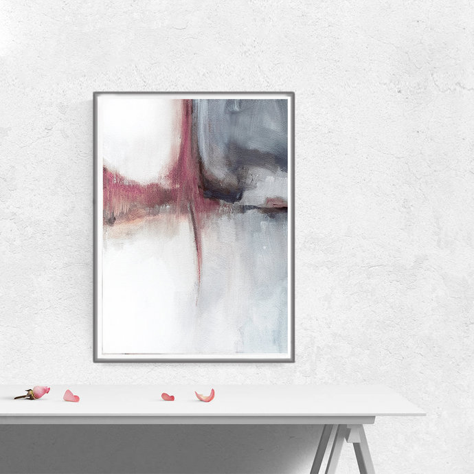 Abstract Art Print, Printable Art, Minimalist Print, Scandinavian Art, Wall