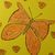 Butterfly Notebook - Paper Journal - Hand Printed - Hand Stitched