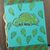 Glittery Chameleon Notebook - Paper Journal - Hand Printed - Hand Stitched -