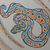 Ball Python Notebook - Journal - Blank Book - Hand-Printed - Hand Stitched