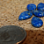 Lapis Lazuli Teardrop Beads 10-1152