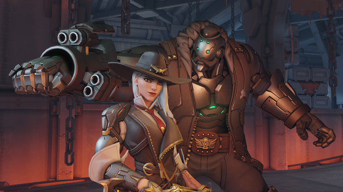 """Overwatch Ashe Canvas Print (13""""x19"""" or 18""""x28"""")"""