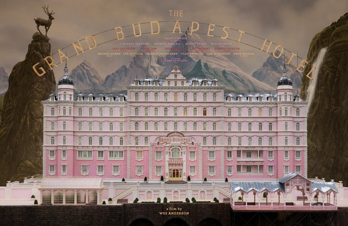 "The Grand Budapest Hotel Canvas Print (13""x19"" or 18""x28"")"