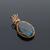 Labradorite pendant Atena delicate and beautiful