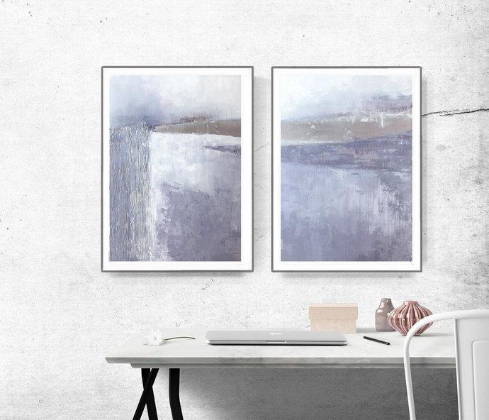 Set of 2 Prints, Set of 2 Scandinavian, Scandinavian Print, Print Set,