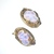 Lava Rock Art Glass Necklace Bracelet Set Schiaparelli Attributed
