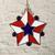 Stained Glass Suncatcher, Patriotic Suncatcher, Star Sun Catcher, Handmade,