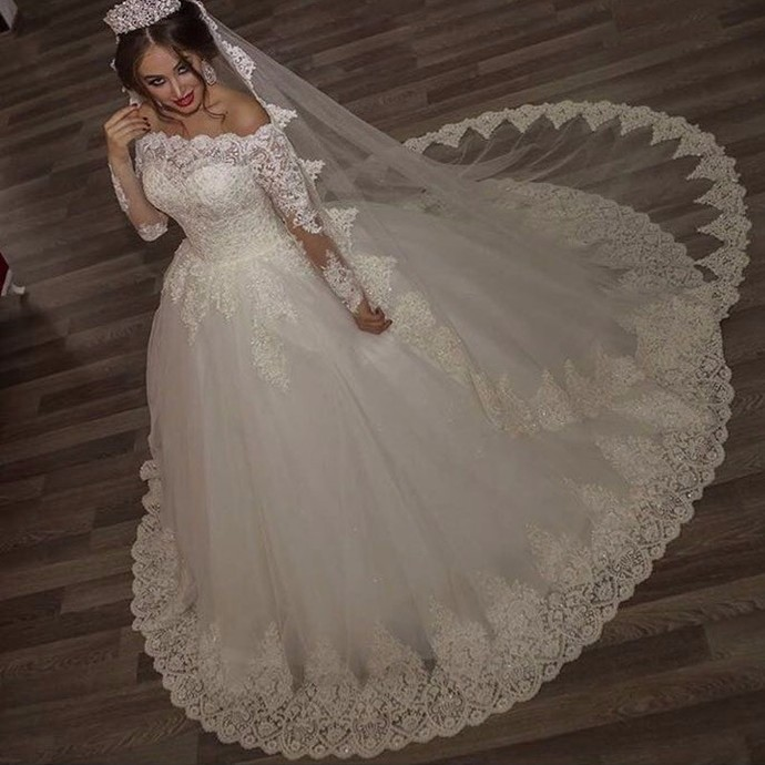 cfed0ee495f04 off the shoulder lace wedding dresses ball gowns,vintage wedding gowns,long  sleeves bridal dress,wedding dress