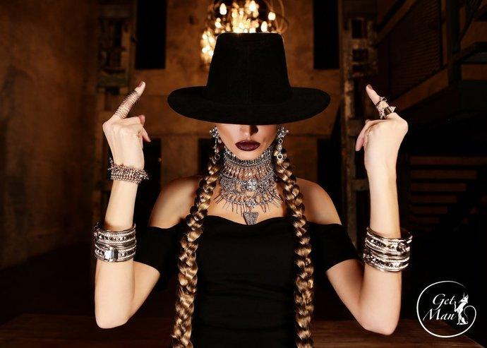 Beyonce Formation Jewelry Set, Boho Jewelry, Boho Style Necklace