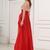 Lovely Red Long Beading Sweetheart Zipper Back Prom Dresses