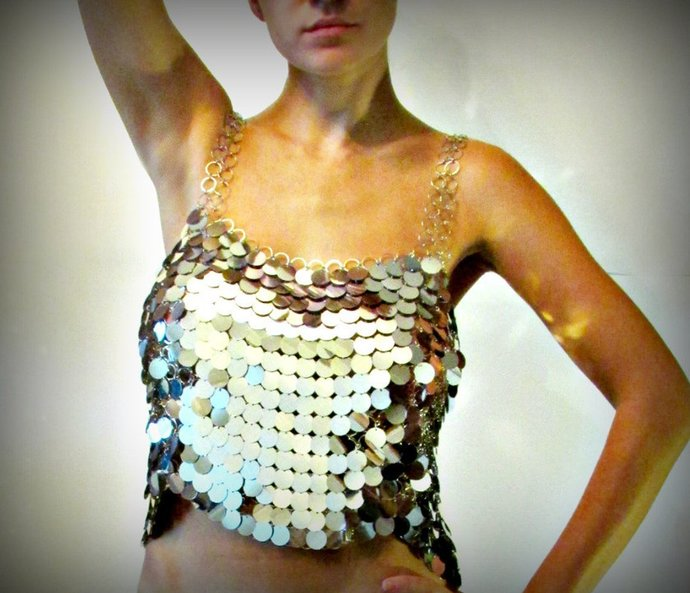 Sequin Shirt Rada, Chainmalle Dress