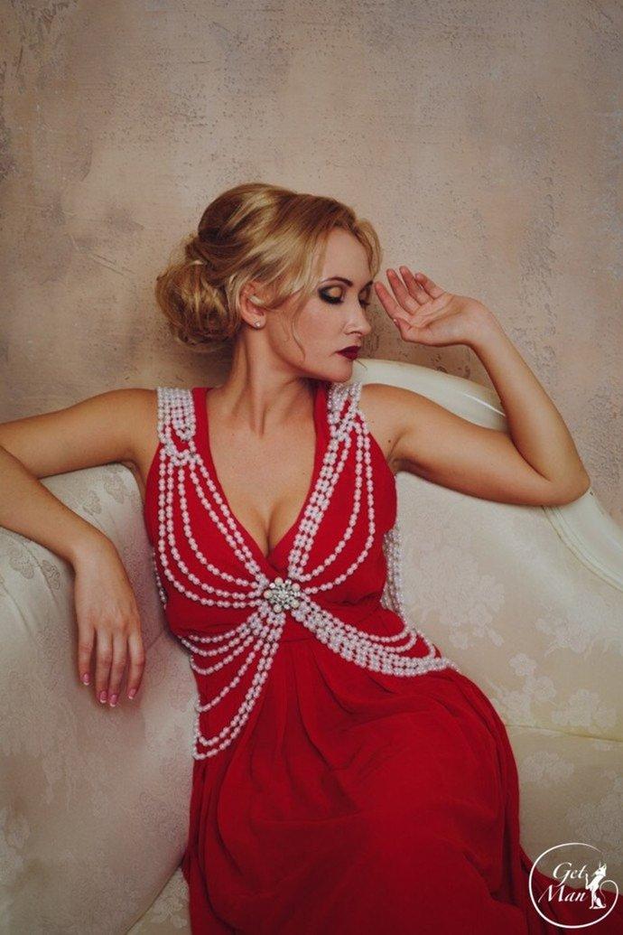 Pearl Body Jewelry Carmen, Body Harness