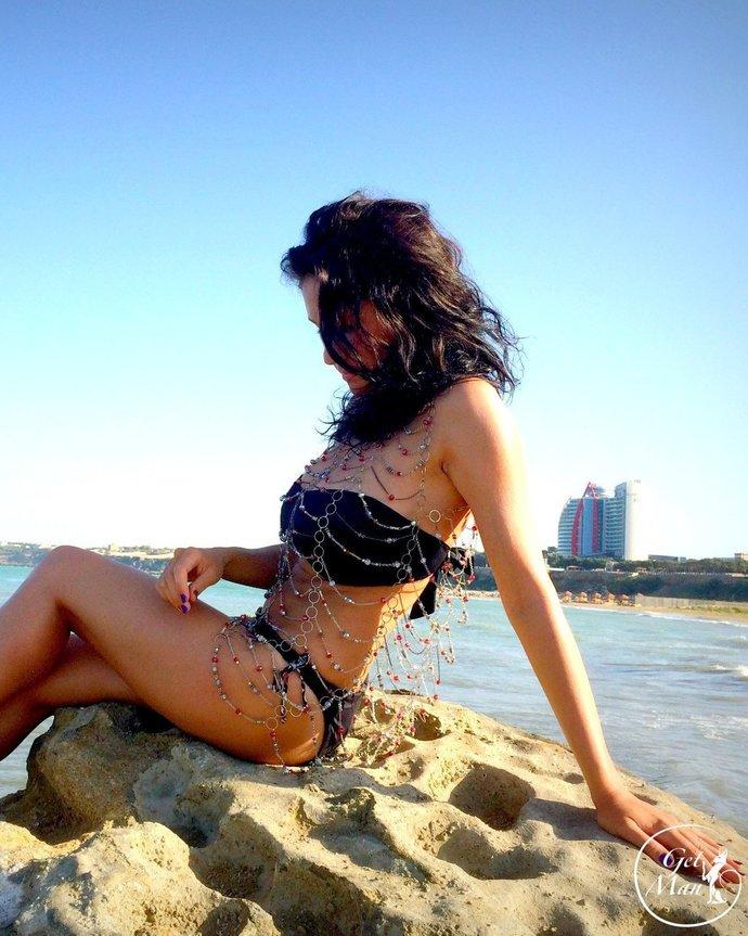 Chain Dress Mermaid, Bikini Chainmail