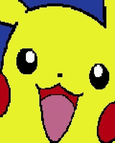 Pokemon Pikachu Crochet Pattern  (Graph, SC, C2C, Tunisian, Bobble stitch)