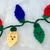 Christmas String Lights Applique Crochet Pattern- PATTERN ONLY - Instant