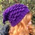 Mermaid Slouchy Hat Crochet Pattern - PATTERN ONLY - Instant Download