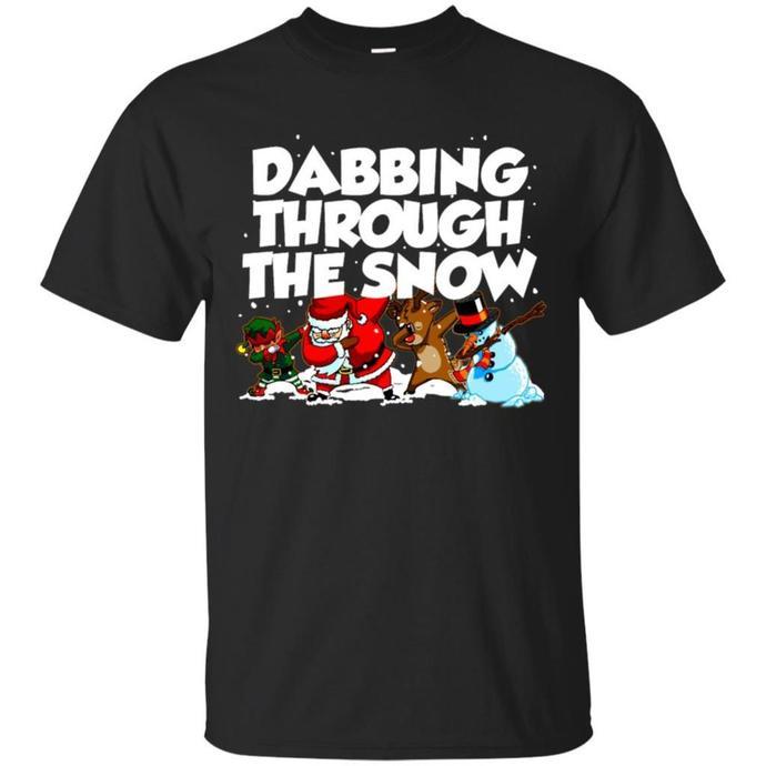 Dabbing Santa Christmas Men T-shirt, Dabbing Santa Tee, Merry Christmas Men