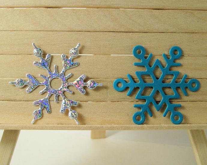 4pc Snowflakes Metal Cutting Die Set