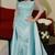 New Arrival Half Sleeve Formal Mermaid Long Evening Appliques Women Dress