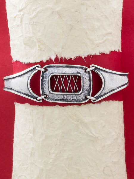 925 Sterling silver bracelet/Wide silver bracelet/Handmade silver  bracelet/