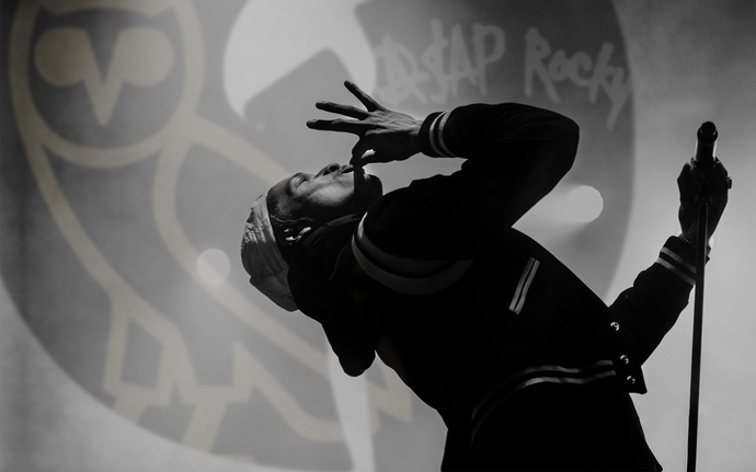 """Asap Rocky  Polyester Fabric Poster (13""""x19"""" or 18""""x28"""")"""