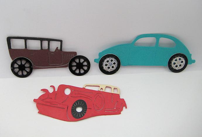 3pc Car Auto Metal Cutting Die Set