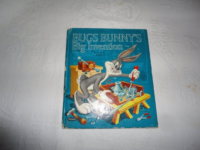 Bugs Bunny's Big Invention Tell A Tale Book