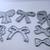 7pc Small Ribbon Bow Metal Cutting Dies