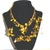 Juliana DeLizza Elster Cha Cha Style Molded Nugget Beaded Parure