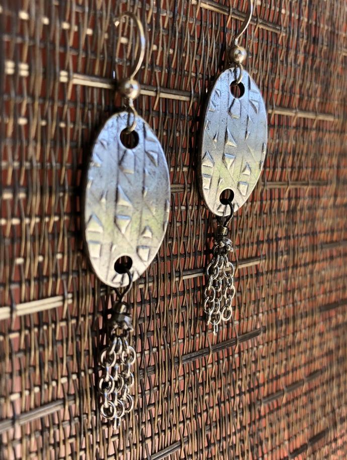 Simply Silver Earrings