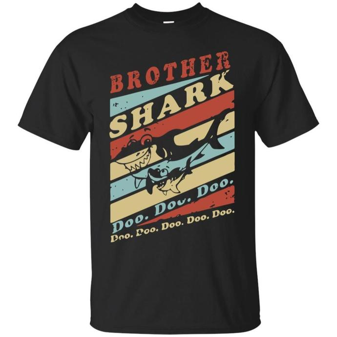 Brother Shark Men T-shirt, Brother Shark Doo Doo Doo t-shirt, Brother Shark Tee,