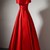 Lovely Off Shoulder Red  Satin Long Formal Dress, Pretty Party Dress 2019, Cute