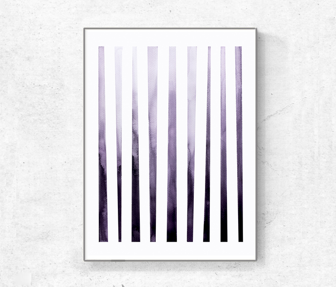 Abstract Artwork Set Of 3 Prints Geometric, Abstract Printable Modern Home