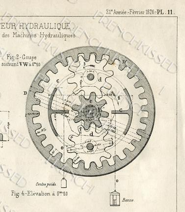 Digital scan steampunk blueprint gears frenchkissed digital scan steampunk blueprint gears antique french elevator motor malvernweather Image collections