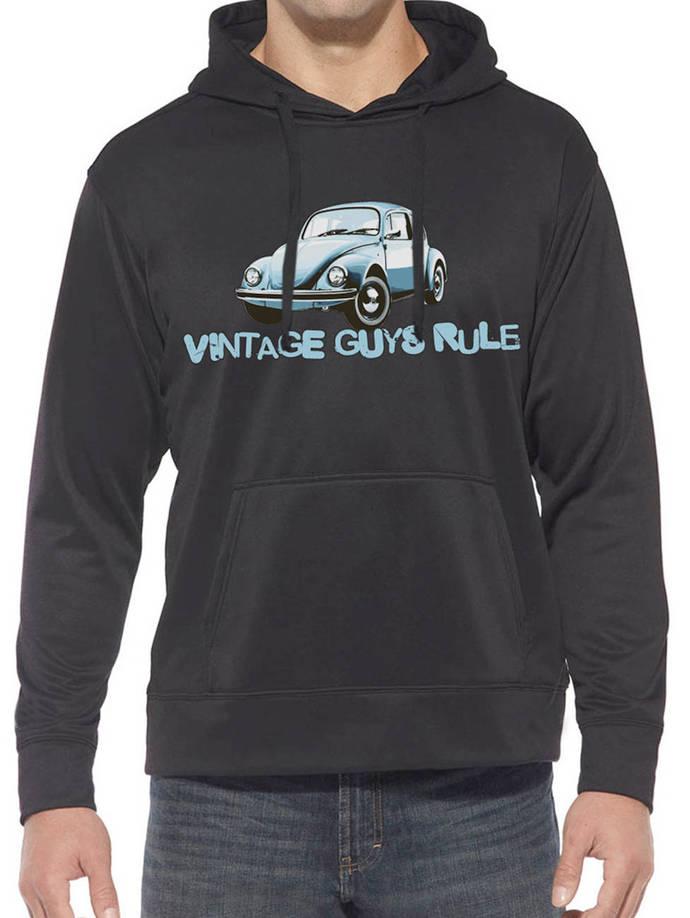 Vintage Guys BEETLE Hooded Sweatshirt