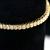 Natural Diamond Tennis Bracelet 7 Carat SI-1 14K Yellow Gold GIA Graded Vintage