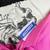 80s Pendleton Wool Pink Pencil Skirt Deadstock Vintage, Women's Size 16