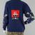 90s Ugly Christmas Novelty Knit Holiday Cardigan, Women's Medium
