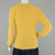 90s Yellow Cable Knit Sweater Vintage, Crew Neck Pull Over Sweater, Gloria