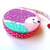 Tape Measure Hedgehogs on Flannel Retractable Measuring Tape