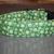 Snowflakes Green Gold Christmas Adjustable Dog & Cat Collars & Martingales &