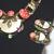 Schiaparelli Attributed Mother of Pearl Art Glass Demi