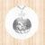 Sterling Silver. Circular Jack O Lantern Pendant