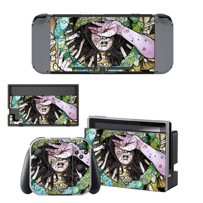 Deliver Us Nintendo switch skin for Nintendo switch console
