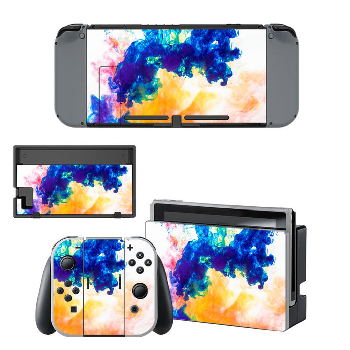 Colors Nintendo switch skin by video games design decal on ...