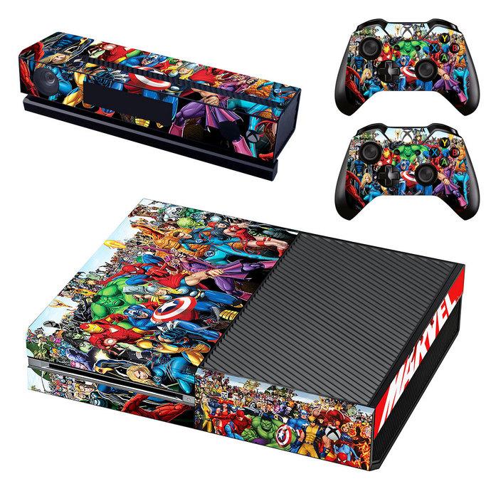 Super Heroes Xbox one Skin