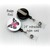 Hot Mess Express - Humor - Pinback Button Magnet Keychain Flatback Badge Reel